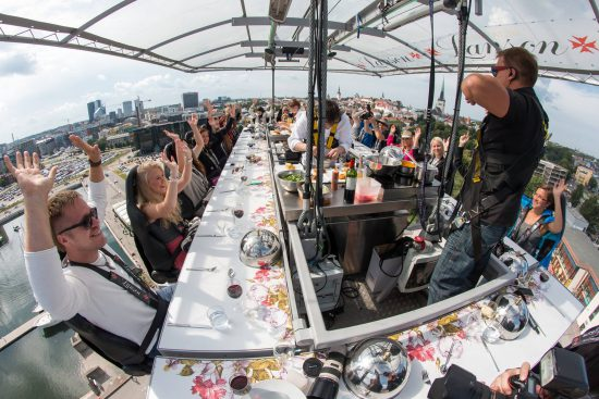dinner in the sky vancouver 2018