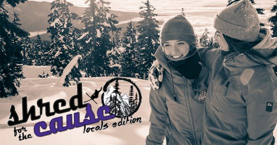 shred for the cause mount seymour 2017