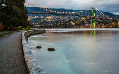 climb the lions gate bridge