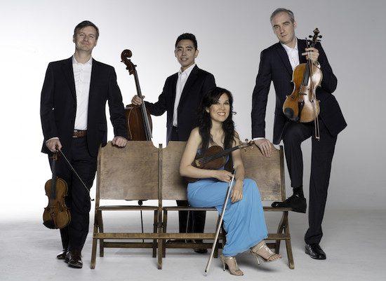 Borealis String Quartet. Steven Lemay photo.