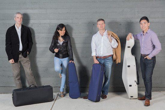 Borealis String Quartet. Derek Bowman photo.