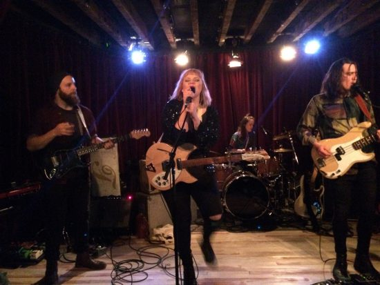 Winnipeg band Mise en Scene at the Railway Stage and Beer Café April 5 2017