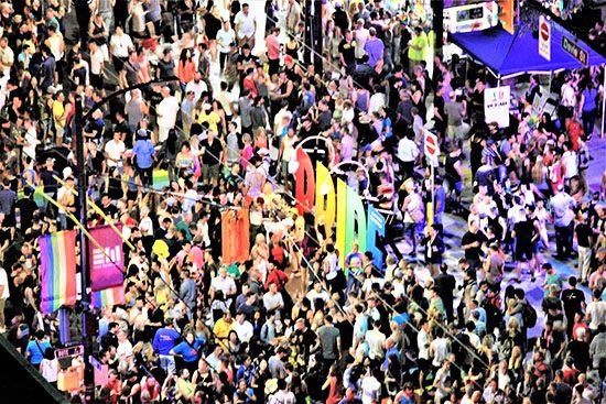 davie street party vancouver pride 2017