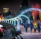 lights at lafarge Christmas 2017