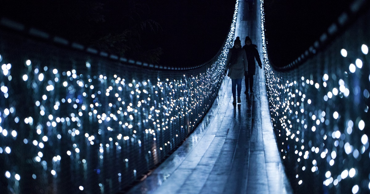 Canyon Lights Cap Suspension Bridge 2018
