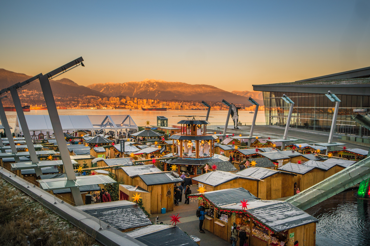 vancouver christmas market 2018