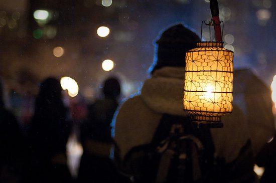 winter solstice lantern festival 2017