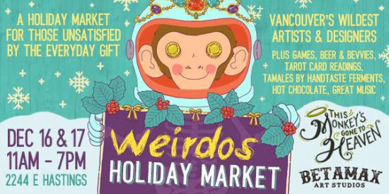 Weirdos Holiday Market
