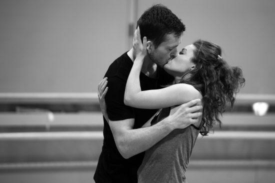 Ballet BC Dancers Brandon Alley and Emily Chessa. Cindi Wicklund photo.