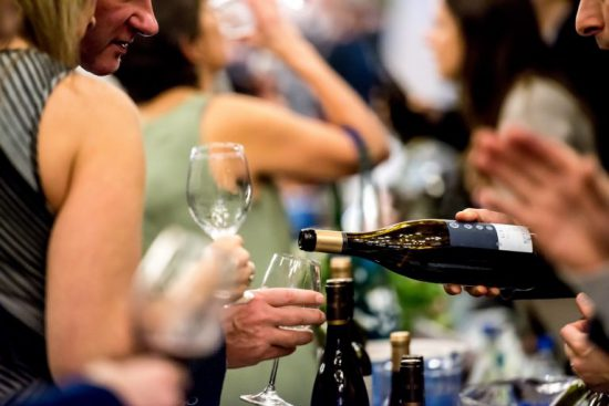 Vancouver International Wine Festival 2018 tasting room and available events