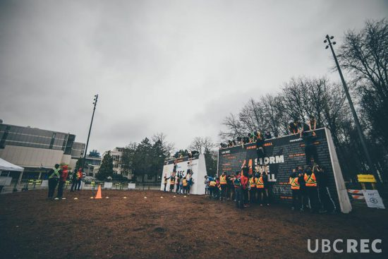 storm the wall 2018 UBC