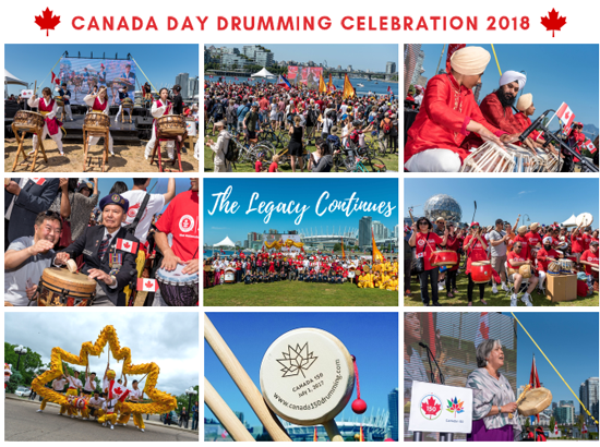 Celebrate Canada Day at the 2nd Annual Drumming Celebration