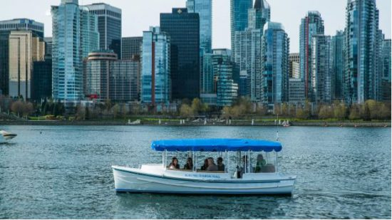 Vancouver S First Zero Emission Electric Boat Tours