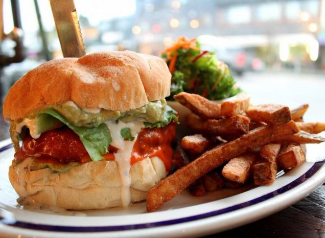 vegan burger Vancouver MeeT
