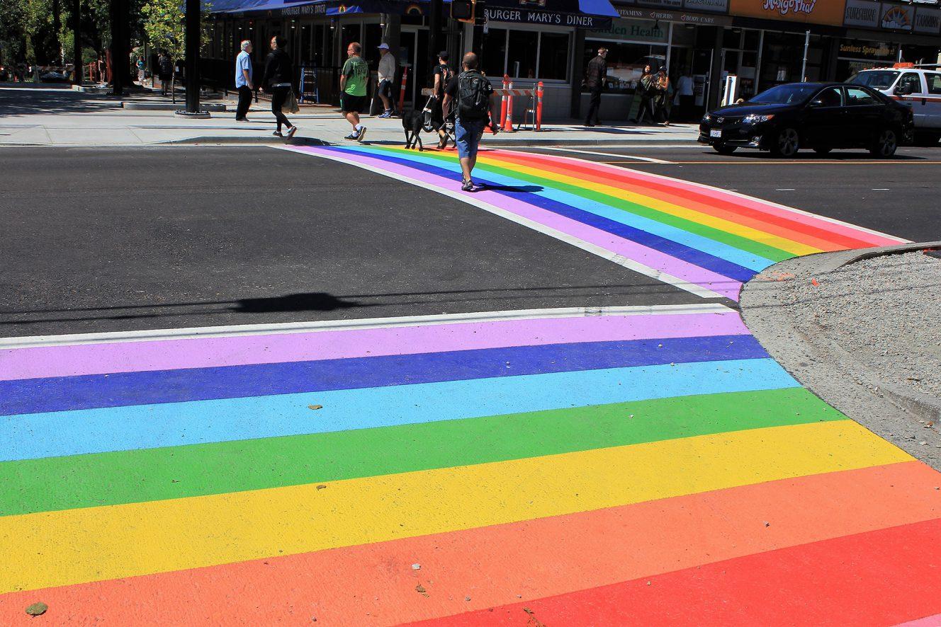 Vancouver's Rainbow Crosswalks