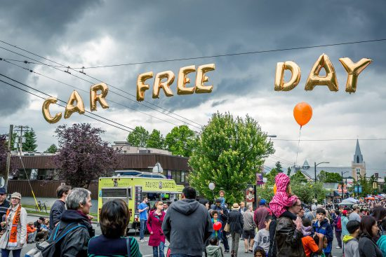 car free day vancouver 2018