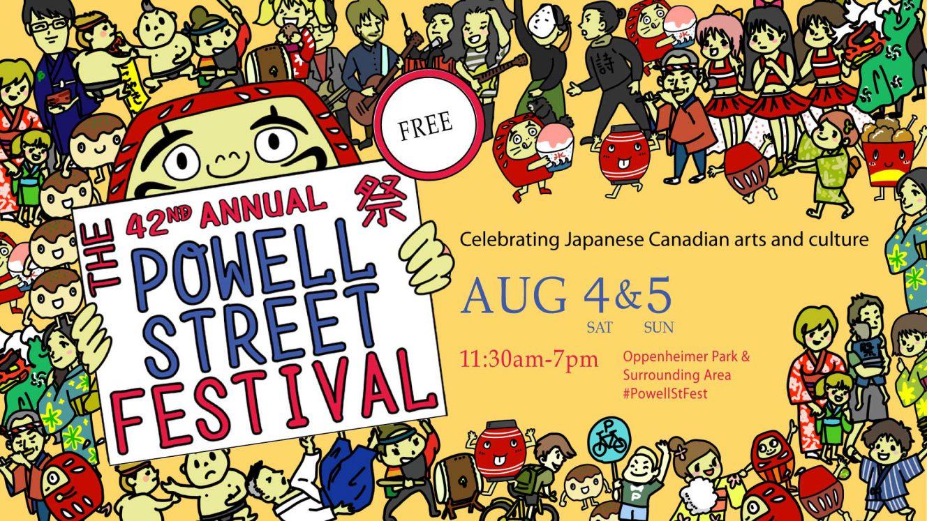 powell street festival vancouver 2018