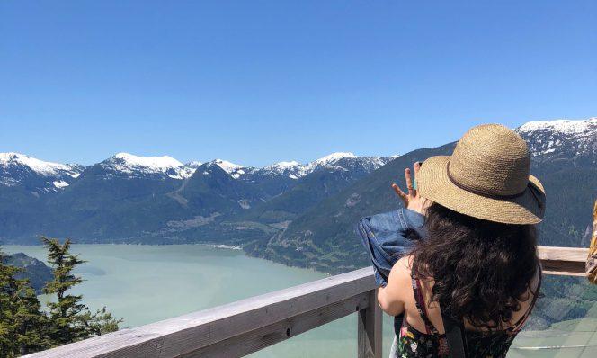 Sea to sky views gondola Vancouver