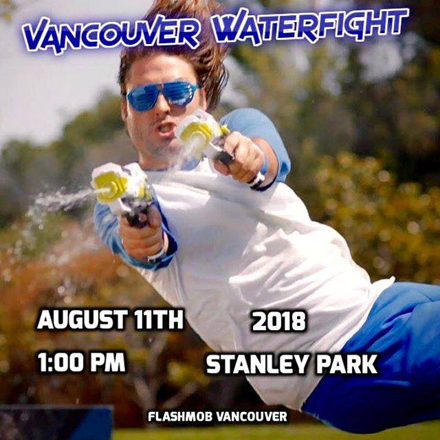 vancouver waterfight 2018