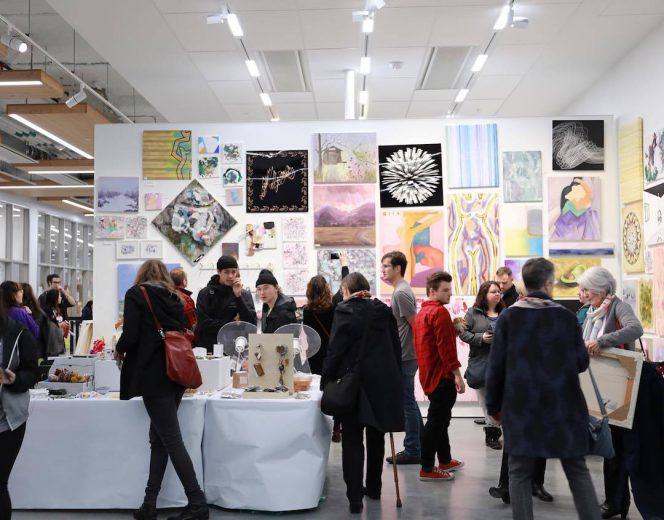 Emily Carr Student Art Sale