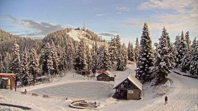 Winter ski season vancouver 2018