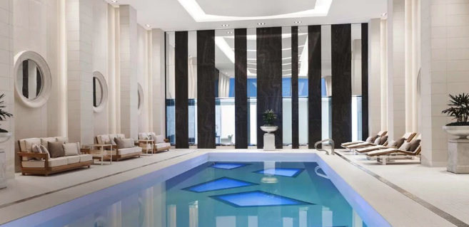 indoor hotel pool Vancouver