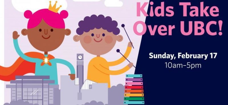 kids take over UBC Family Day