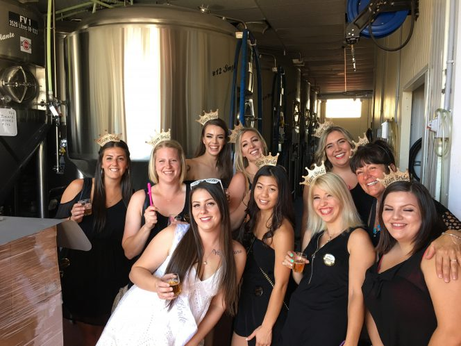 brewery tour bachelorette
