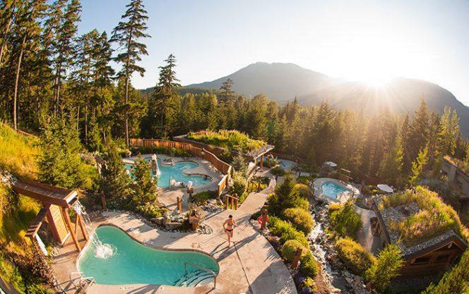 Vancouver spa Whistler