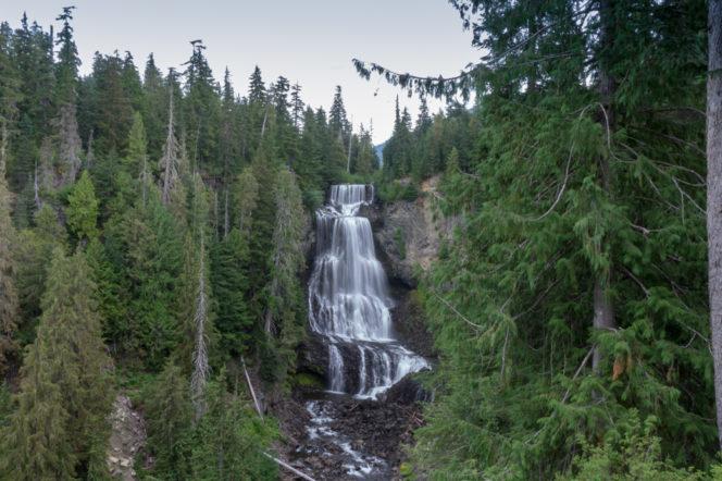 Alexander Falls near Whistler Olympic Park