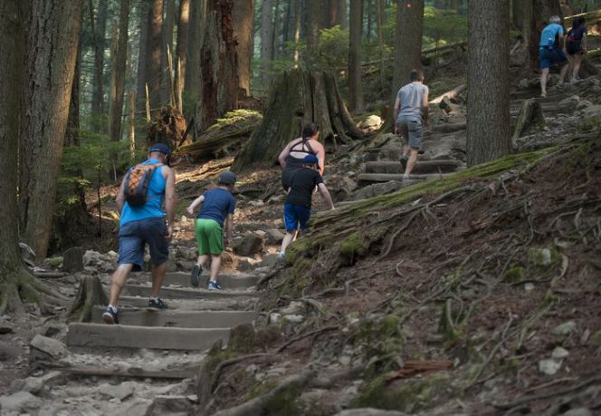 Grouse grind Vancouver