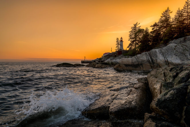 Lighthouse Park in West Vancouver, BC