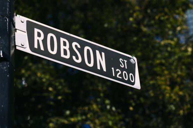 Vancouver Neighbourhoods: Robson Street - Inside Vancouver Blog