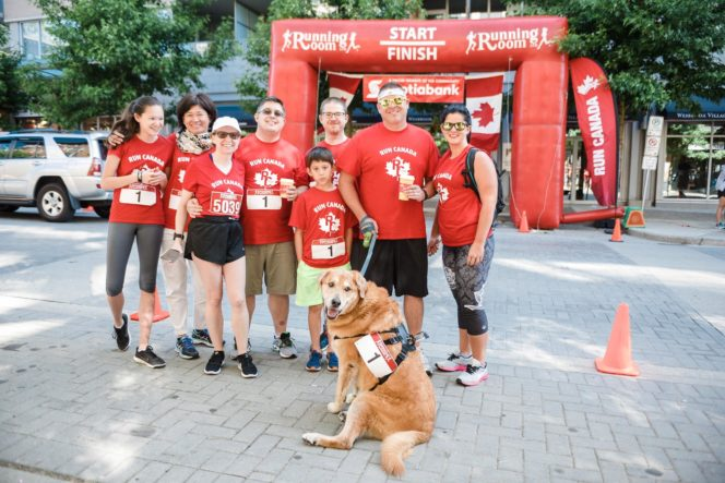 Canada Day Vancouver wellness run