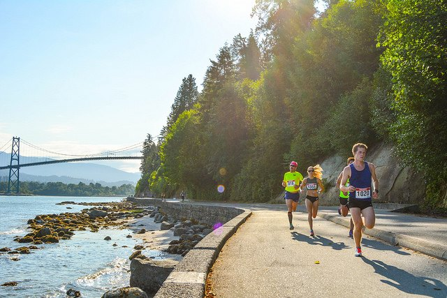 Vancouver running races wellness