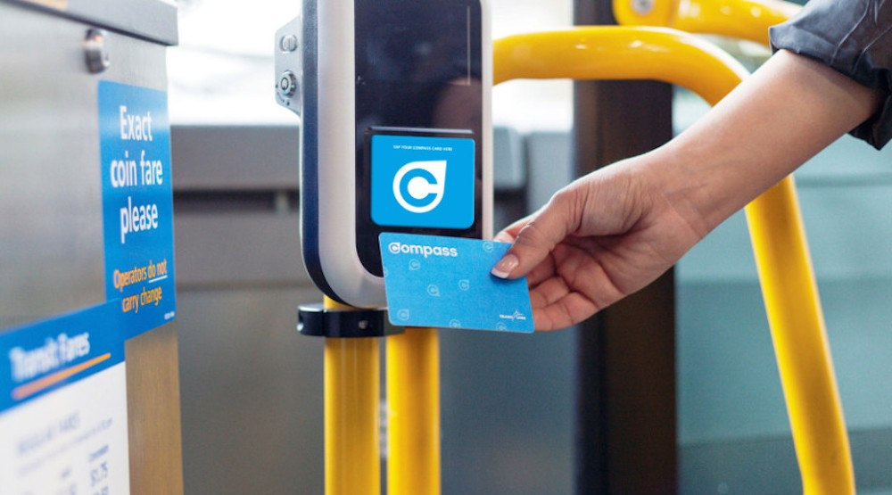 Compass card Vancouver Translink