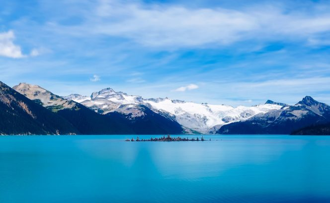 Garibaldi Lake in Squamish, BC