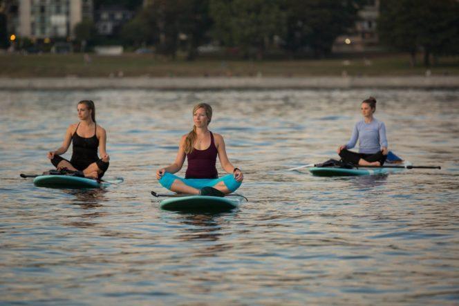 paddleboard yoga Vancouver