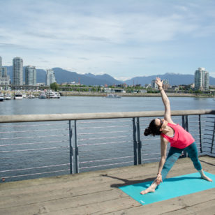 Vancouver yoga Olympic Village