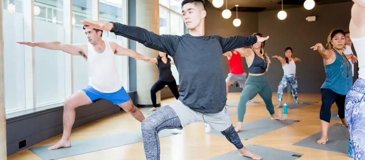 yoga vancouver warrior 2