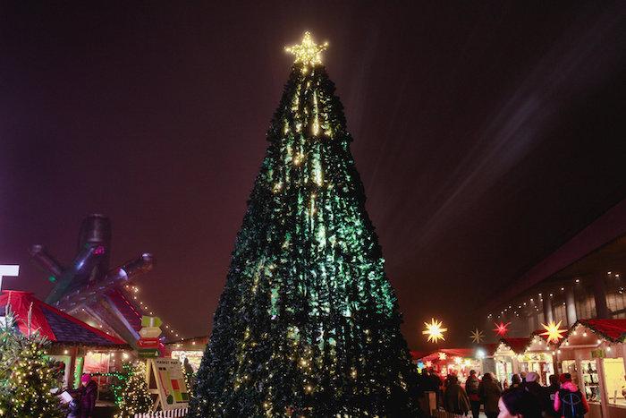 Vancouver Christmas Market Tree
