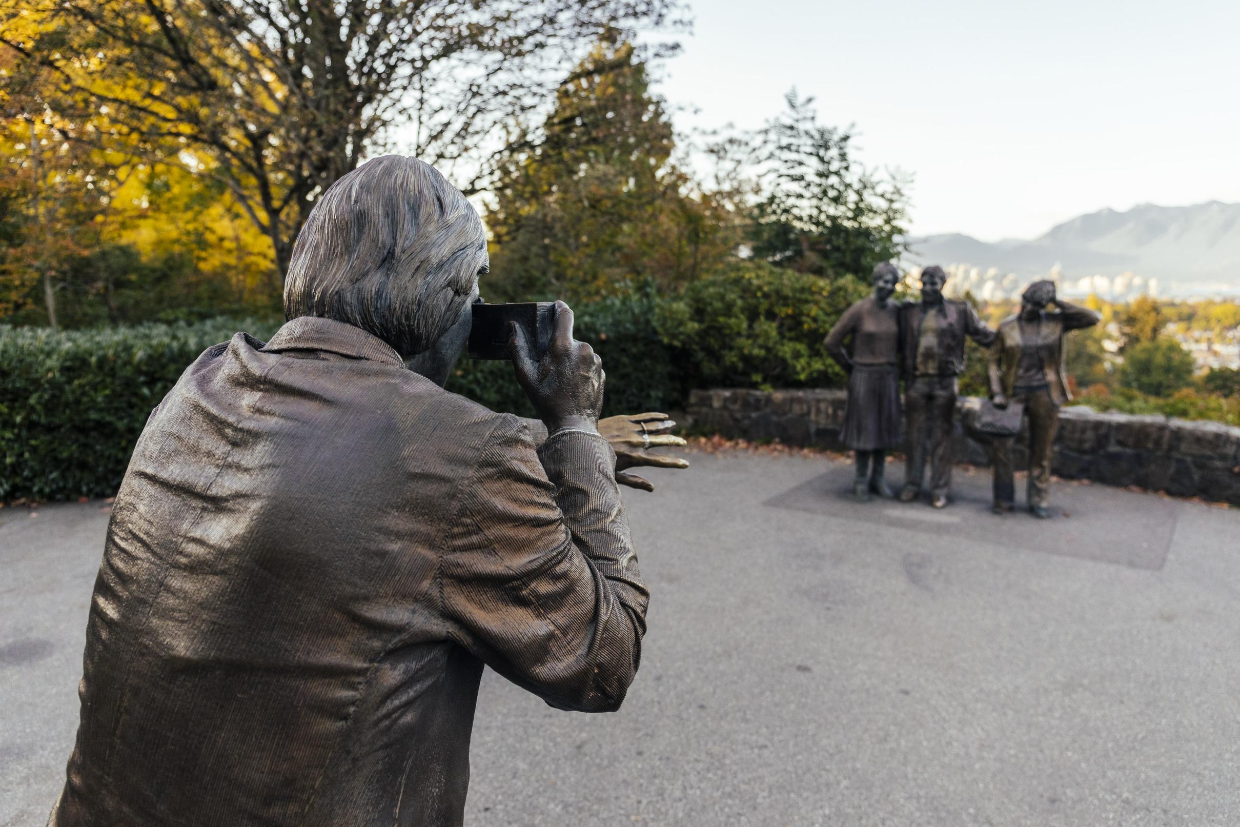 Vancouver autumn park