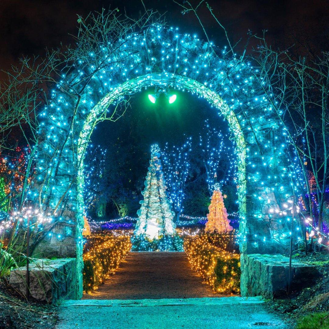 VanDusen 2018 03 - Van Dusen Gardens Christmas Lights 2019