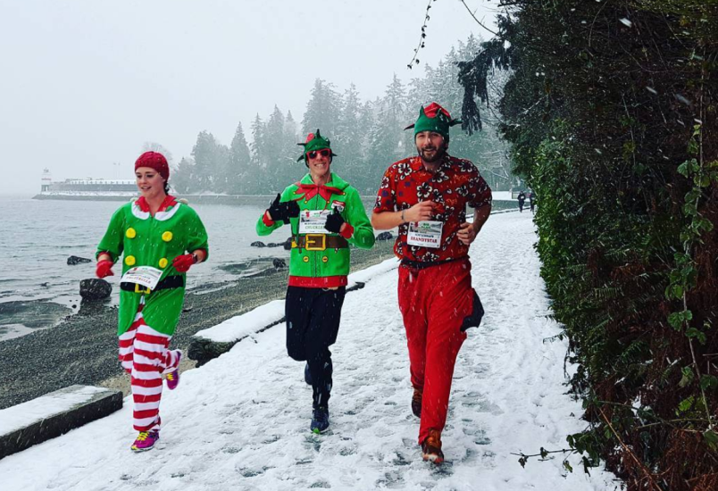 Vancouver big elf run