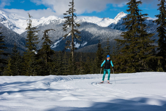 Cross-country skiing at Whistler Olympic Park