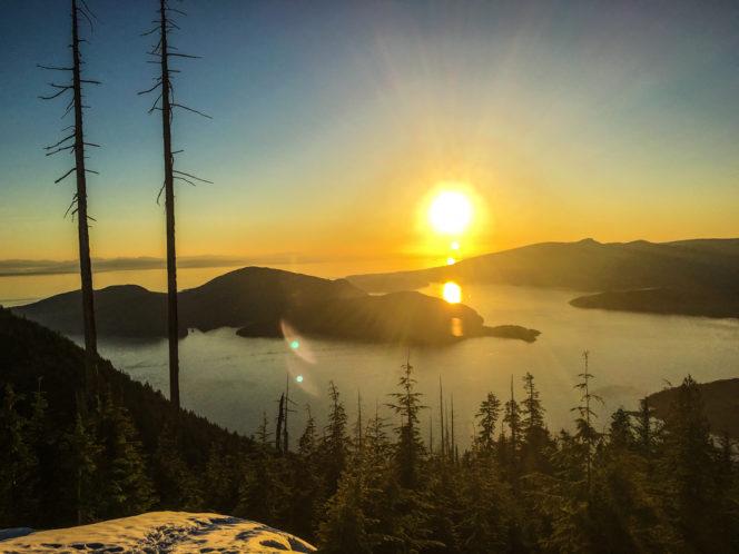 Bowen Lookout near Vancouver