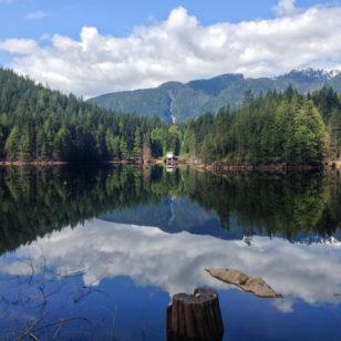 Buntzen Lake near Vancouver
