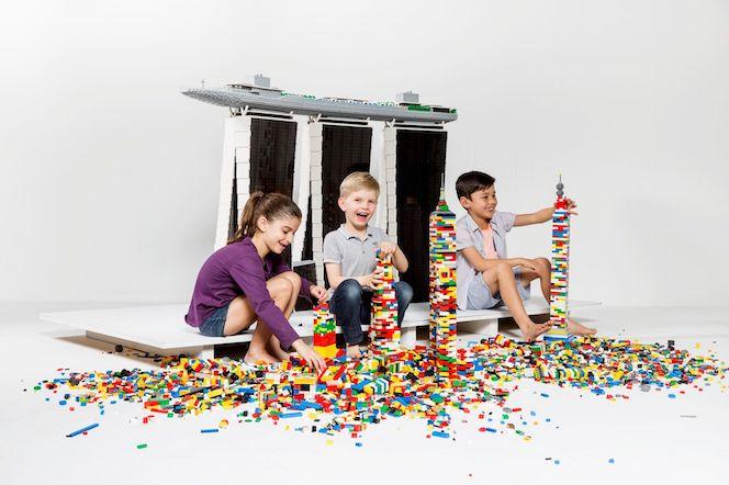Opening tomorrow: a Lego fan's dream, Towers of Tomorrow