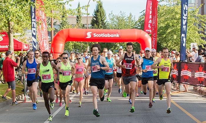 Vancouver half marathon