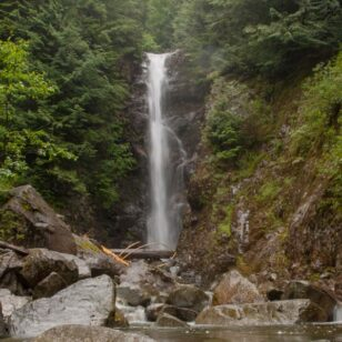 Norvan Falls in North Vancouver